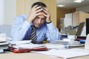 frustrated for bankruptcy options